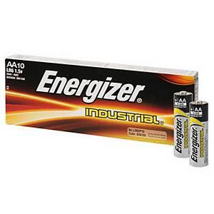 Pack de 10 pilas alcalinas Energizer L91/LR6/AA