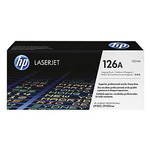 Tromle HP 126A CE314A 14.000 sider sort + 7.000 sider trefarvet