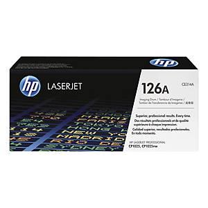Trumma HP 126A CE314A 14 000 sidor svart + 7 000 sidor trefärgad