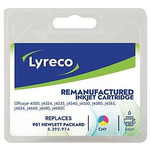 Lyreco HP 901 CC656A mustesuihkupatruuna 3-väri
