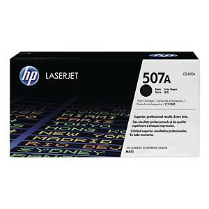 HP CE400A LaserJet Toner Cartridge (507A) - Black