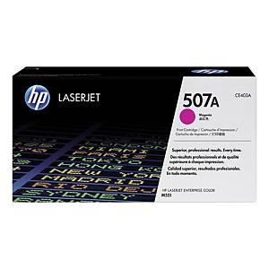 Lasertoner HP 507A CE403A, 6 000 sidor, magenta