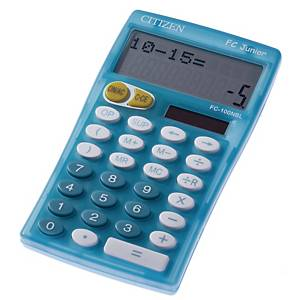 Citizen FC-100N Junior calculator blue