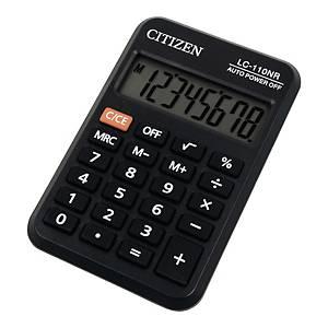 Kalkulator kieszonkowy CITIZEN LC-110NR czarny