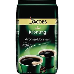 Grains de café Jacobs Krönung Crema, le paquet de 1 kg