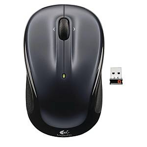 LOGITECH M325 OPT W/LESS MOUSE D/SILV