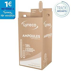 Carton de récupération pour ampoules Lumibox