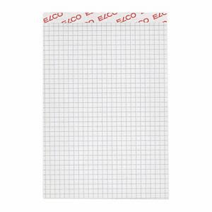 Bloc-notes Elco A6, 70 g/m2, 4 mm à carreaux, 100 feuilles