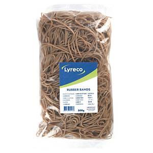 Elastikker Lyreco, 180 x 2 mm, pakke a 500 g