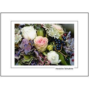 Carte de condoléances Art Bula, 180x130 mm, allemand