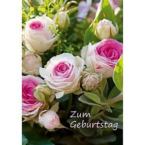 Geburtstagskarte Art Bula 7922, 122x175 mm, deutsch