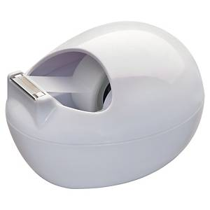 Scotch® Dispenser Design Keivormig wit + 1 rol Scotch® Magic™ Tape