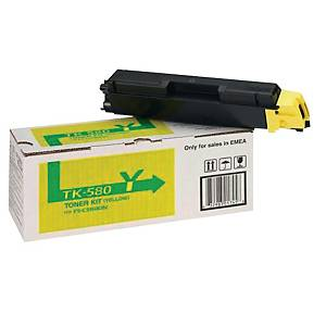 Kyocera TK-580Y cartouche laser jaune [2.800 pages]