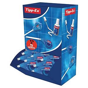 Tipp-Ex® Easy Correct zijdelingse correctieroller, 4,2mm x 12m, 15stuks+5 gratis