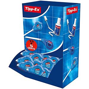 Tipp-Ex Easy Refill Correction Roller - Box of 15 + 5 Free