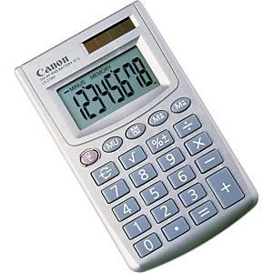 Calculatrice de poche Canon LS-270H, affichage de 8chiffres, argenté