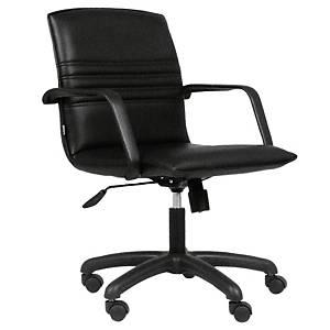 ACURA เก้าอี้สำนักงาน CR-2/M หนังเทียม ดำ