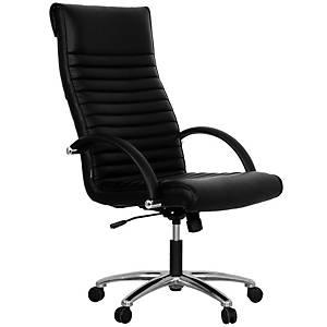 ACURA เก้าอี้ผู้บริหาร รุ่น LD/H หนังเทียม สีดำ
