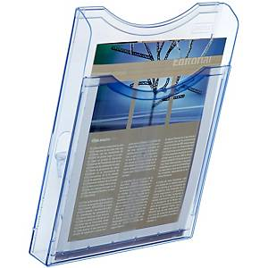 Expositor de pared Archivo 2000 - A4 - 1 compartimento - azul