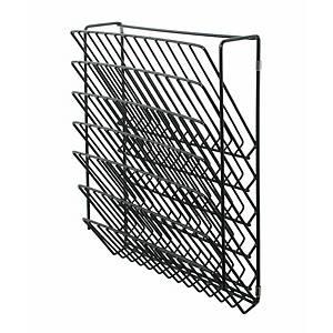 Expositor de pared Cilindro V-50 - 6 compartimentos - negro