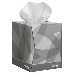 Caixa de 90 toalhetes faciais Kleenex - 11 x 11,3 - Folha dupla