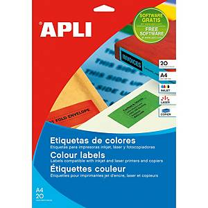 PK480 APLI 1591 M/PURPOSE LABEL 70X37 GR