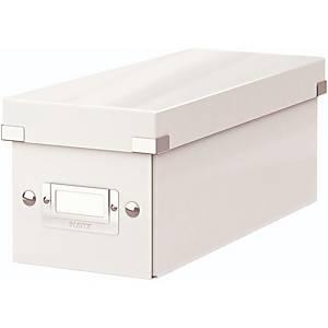CD-Ablagebox Leitz 6041, Click n Store, Maße: 143x136x352mm, weiss