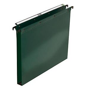 Elba Polypro Ultimate Suspension File Foolscap Green 30mm Base Heavy Duty Box 25