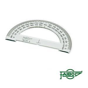 Semicírculo de plástico Faibo - 15 cm