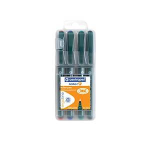 Centropen Ergo 4615 rollerirón, 0,3 mm, 4 darab/csomag