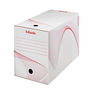 Esselte archiváló doboz, 20 cm, fehér, 25 darab/csomag