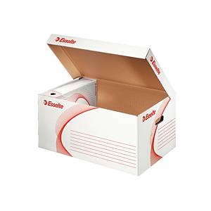 Esselte archiváló doboz fedéllel, 26 x 54 x 36,5 cm, 10 darab/csomag