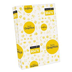 Rey Text & Graphics white paper A3 80g - pack of 500 sheets