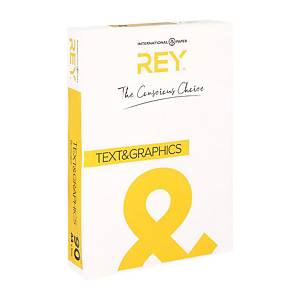Papier A4 blanc Rey Text & Graphics, 90 g, les 500 feuilles