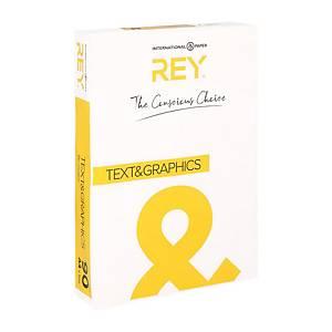 Rey Text & Graphics wit A4 papier, 90 g, per 500 vellen