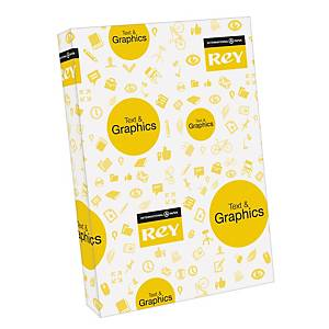 Rey Text & Graphics white paper A3 90g - pack of 500 sheets