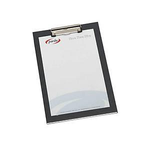 Base Pardo de cartón con pinza - 250 x 350 mm - negro