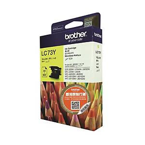 Brother LC-73Y Inkjet Cartridge - Yellow
