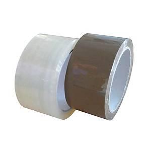 Csomagolószalag, 48 mm x 66 m, átlátszó