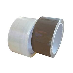 Hotmelt Packband, 48 mm x 60 m, transparent