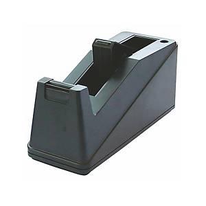 Dérouleur de bureau Nova, pour rubans avec noyau  Ø 25 mm + 75 mm, noir