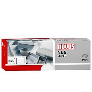 Caja de 5000 grapas galvanizadas Novus NE8