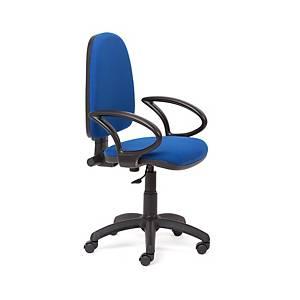 Cadeira com mecanismo de contacto permanente Rocada RD930 - azul