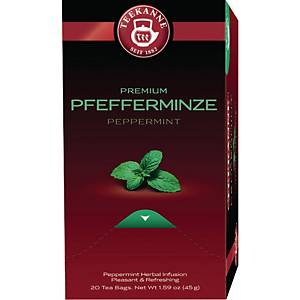 Tee Teekanne 6249, Premium Pfefferminze, 20 Beutel á 2,25g