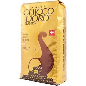 Café en grains Chicco d Oro, paq. 1kg