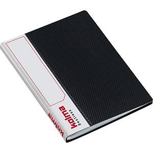 Sichtbuch Kolma Restless 03741 A6, 20 Taschen, schwarz