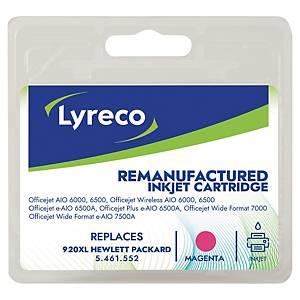 Cartucho de tinta LYRECO magenta alta capacidad 920XL compatible con OJ-6000