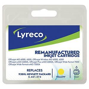 LYRECO kompatibilná atramentová kazeta HP 920XL (CD974AE) žltá