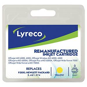 Cartucho de tinta LYRECO amarillo alta capacidad 920XL compatible con OJ-6000