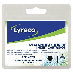LYRECO kompatibilná atramentová kazeta HP 920XL (CD975AE) čierna